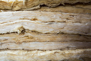 Package of thermal insulation material,