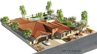 New Luxury Homes: Tuscany Heights, Palm Springs 92262