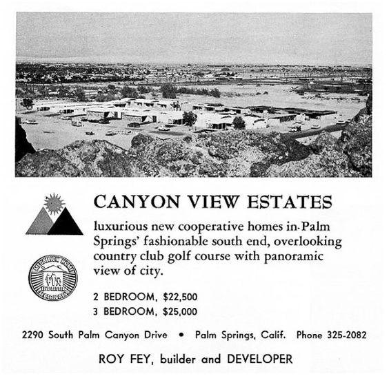 Canyon View Estates ad 2