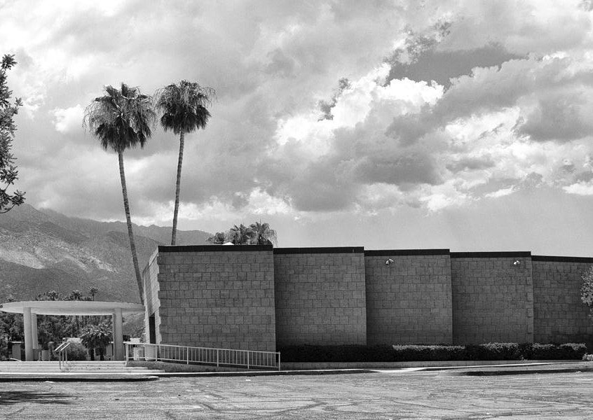 palm-springs-city-hall-bw-palm-springs-william-dey