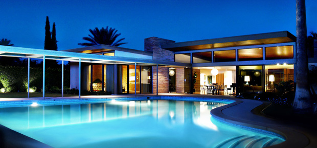 Sinatra House Twin Palms - Recently