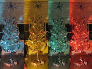Shimmering Nostalgia: The Aluminum Christmas Tree