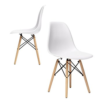 Eames Molded Plastic Side Chair 2