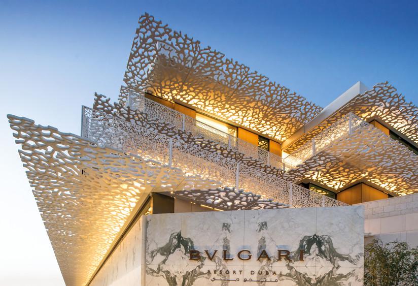 The Bvlgari Resort Dubai _ Entrance and