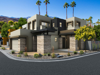 New Luxury Townhomes: The District, Cathedral City 92234