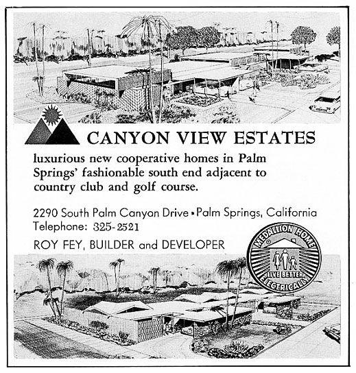 Canyon View Estates ad 3