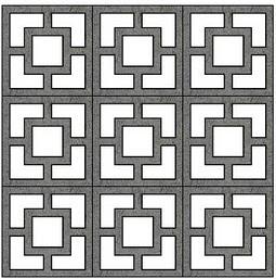 Modern Charlotte - concrete blocks - palm_springs_modern