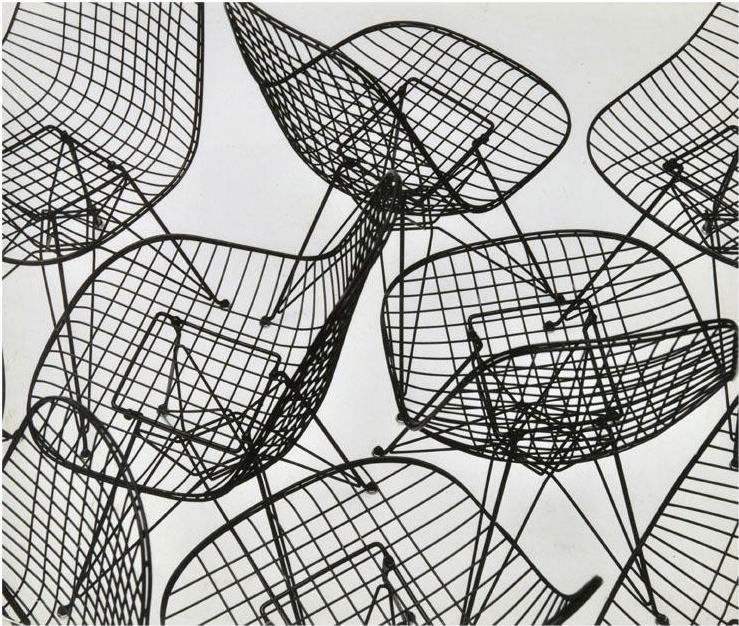 Eames Wire Mesh Chairs 2