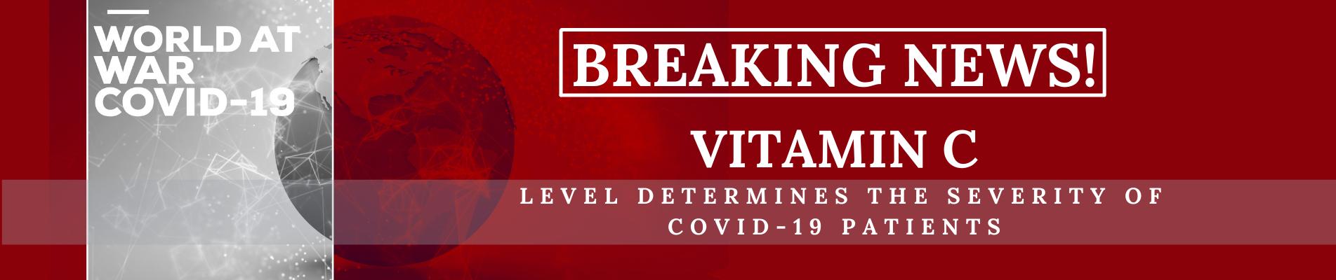 VITAMIN C LEVEL DETERMINES THE SEVERITY