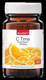 Kordel's C Time Acid Free C 1000mg 30'S_