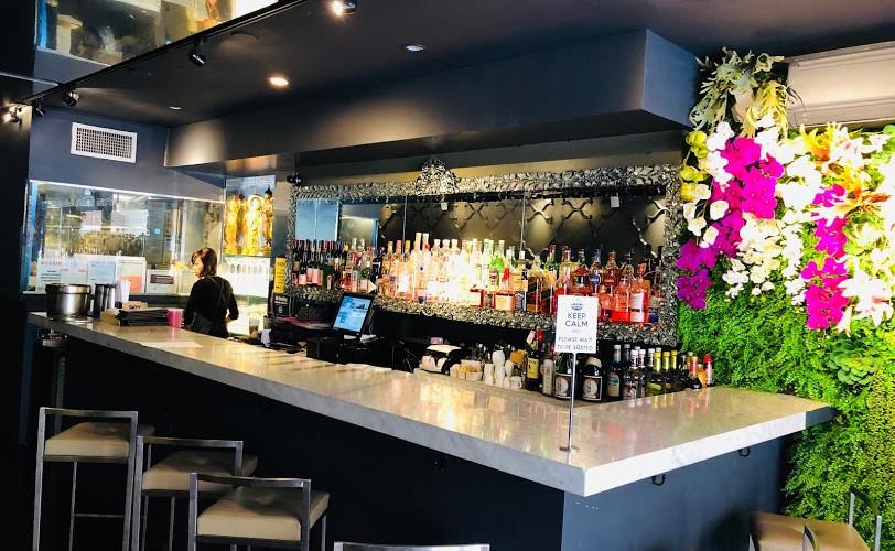 BKK Eatery bar and seats