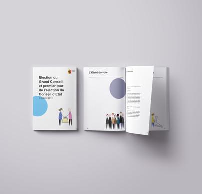Brochure de vote