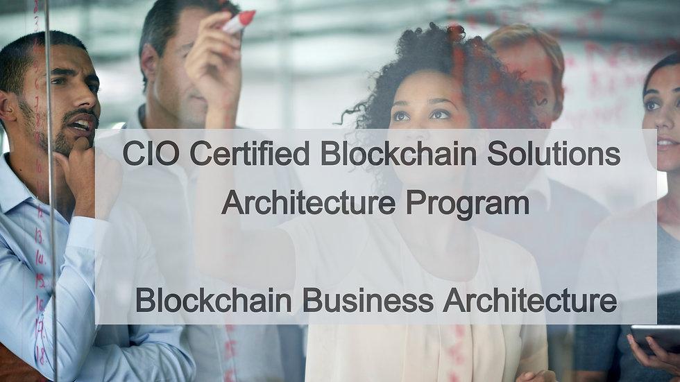 301: Blockchain Business Architecture Workshop