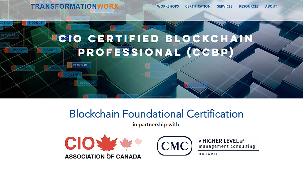 6-Courses: Blockchain & Cryptocurrencies - Business & Technology Professional