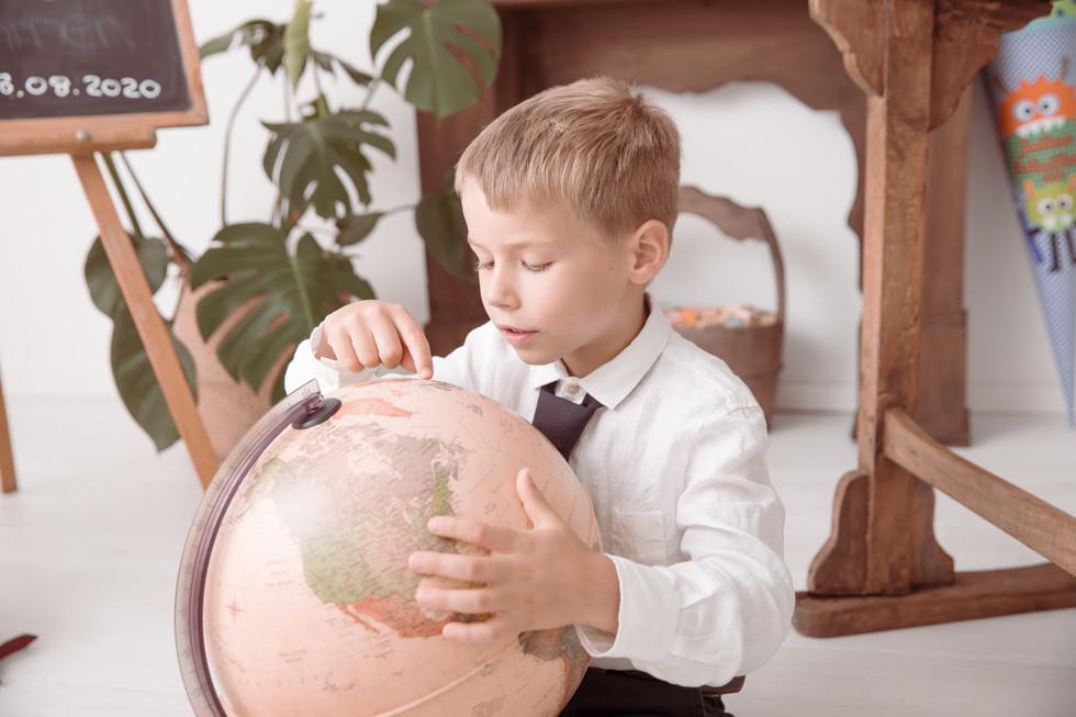 Fotos mit einem Schulkind aus Dieburg