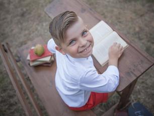 Endlich Schulkind - Einschulungsfotos zum Schulstart im Fotogarten in Otzberg