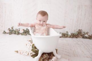 Fotoideen eines Babys