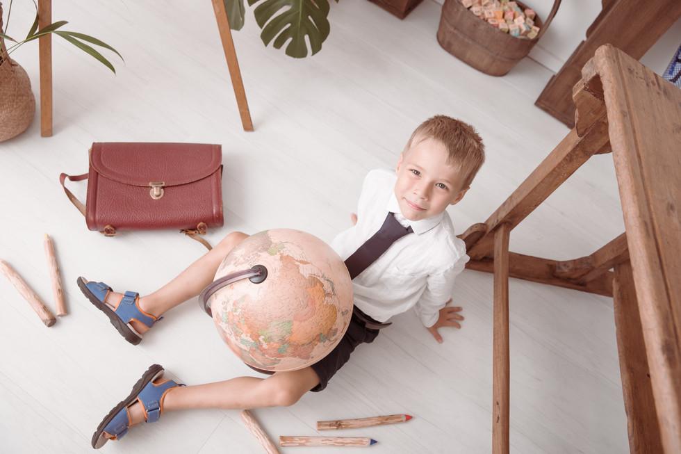Die Einschulung eines Schulkinds in der Otzbergschule