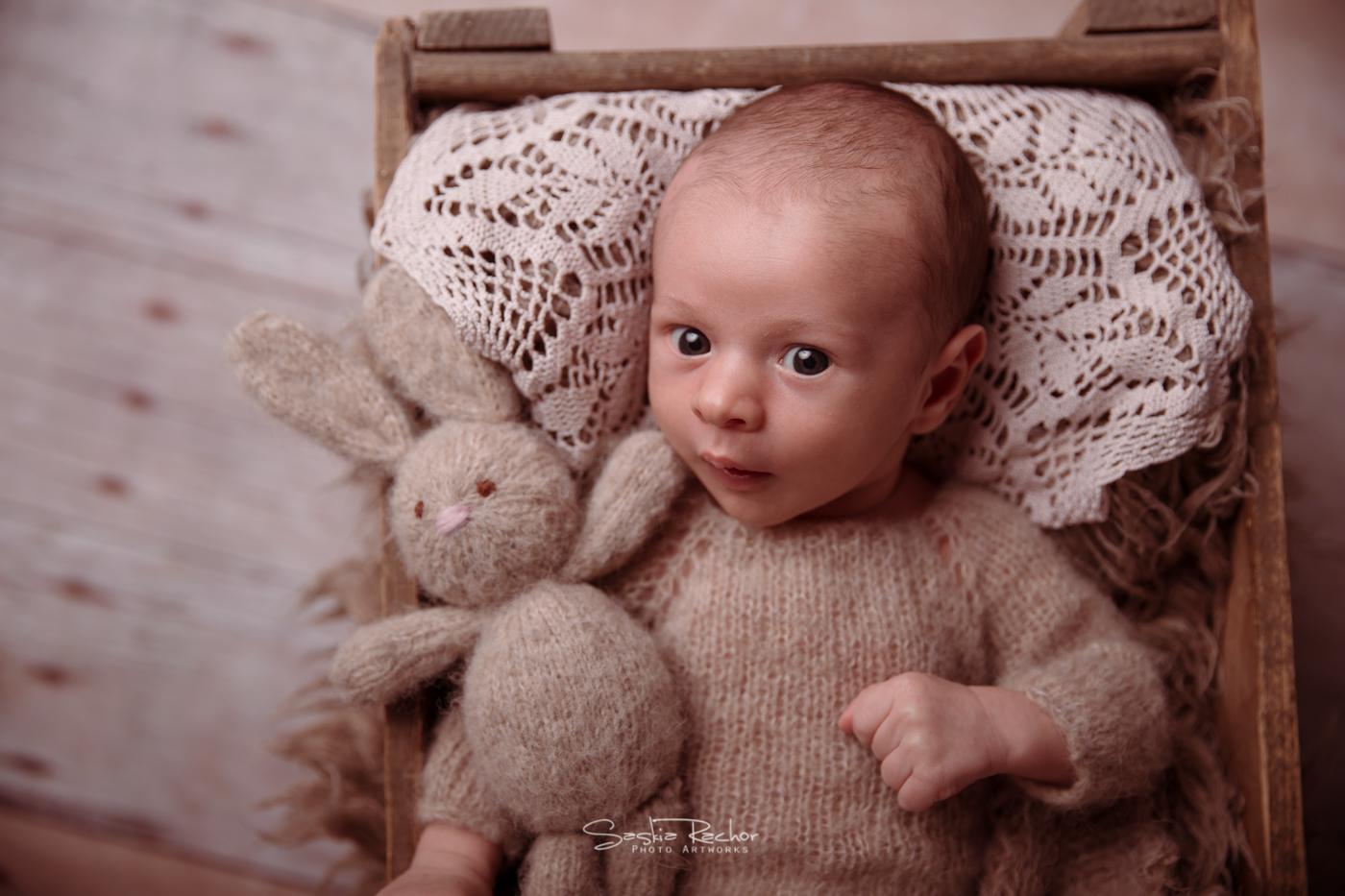 Neugeborenenfotos Baby Reinheim