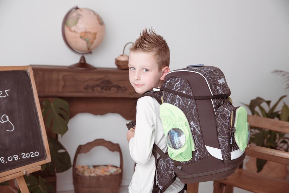Fotos eines Schulkindes