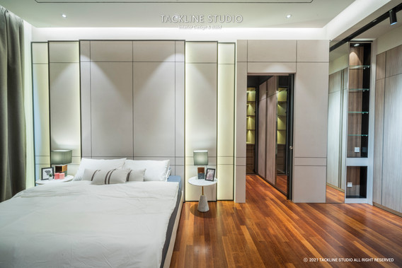 Pavilion Hilltop Mont Kiara Master Bedroom