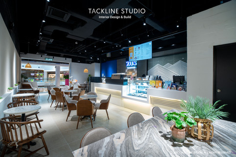 Zus Coffee Interior Design