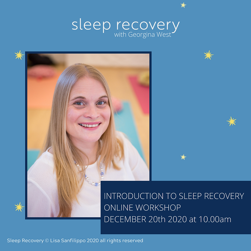 Introduction to Sleep Recovery: the five step yoga solution to restore your rest