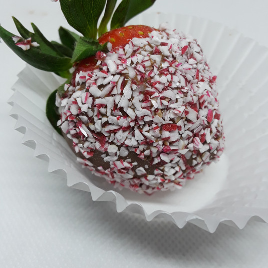 Dark Chocolate Peppermint Strawberry