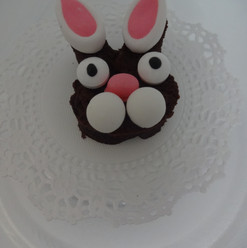 Yummy Easter Bunny Brownie