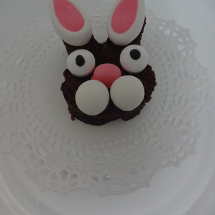 Yummy Easter Bunny Brownie