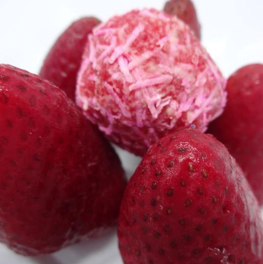 Strawberry Coconut Truffle