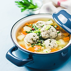 Nonna's Chicken Bone Soup