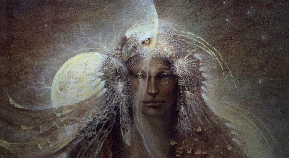 Native American and Eagle Spirit