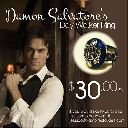 Damon Salvatore's Day Walker Ring