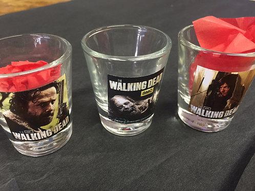Walking Dead shot Glass