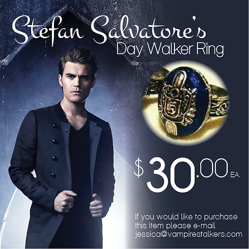 Stefan Salvatore's Day Walker Ring