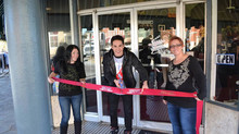 Michael Trevino does Ribbon Cutting!