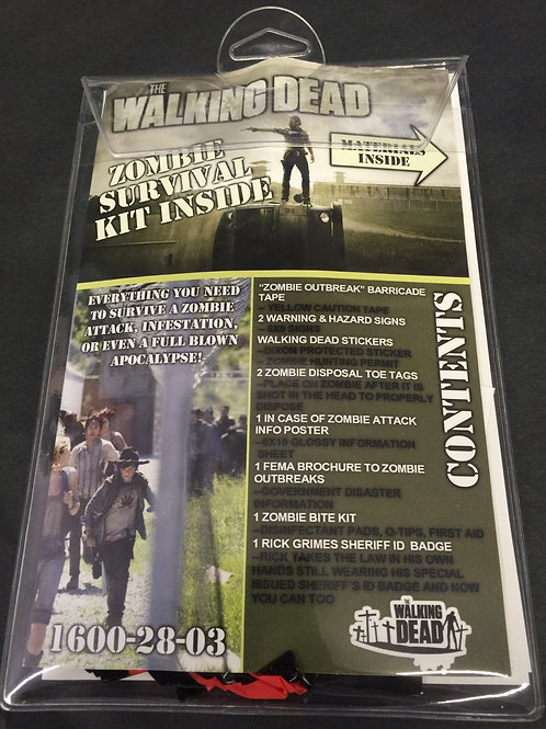 Walking Dead Survival Kit