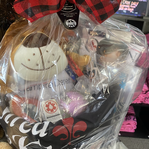 Choose a Giftbasket with or without autographs