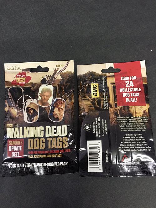 Walking Dead Dog tag COLLECTOR