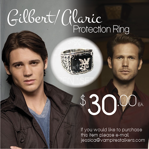 Gilbert/Alaric Protection Ring