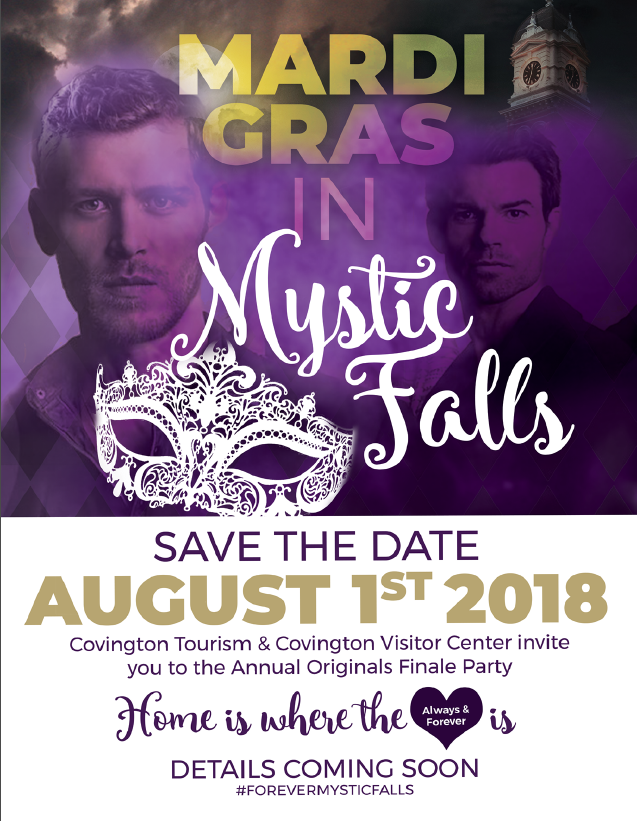 August 1, Save the Date Finale Party Flyer