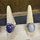 Thumbnail: Lapis and moonstone rings