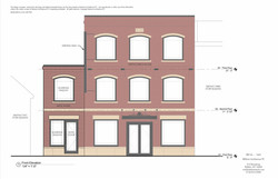 P1666 O'Connell's Menswear - Front Elevation