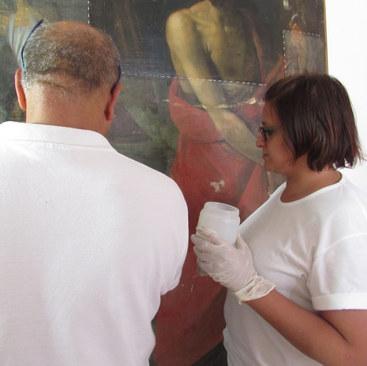 Giuseppe Mantella con Antonella Aricò