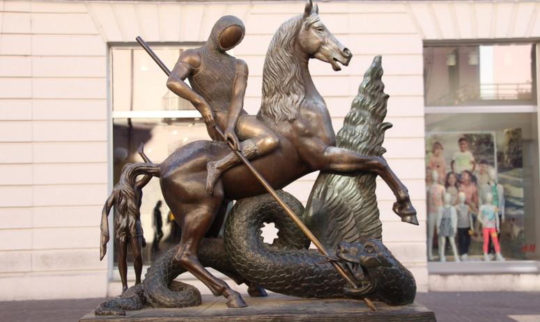 Dalì, San Giorgio e il Drago