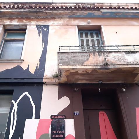 """Atene, locale notturno """"Decadence"""""""