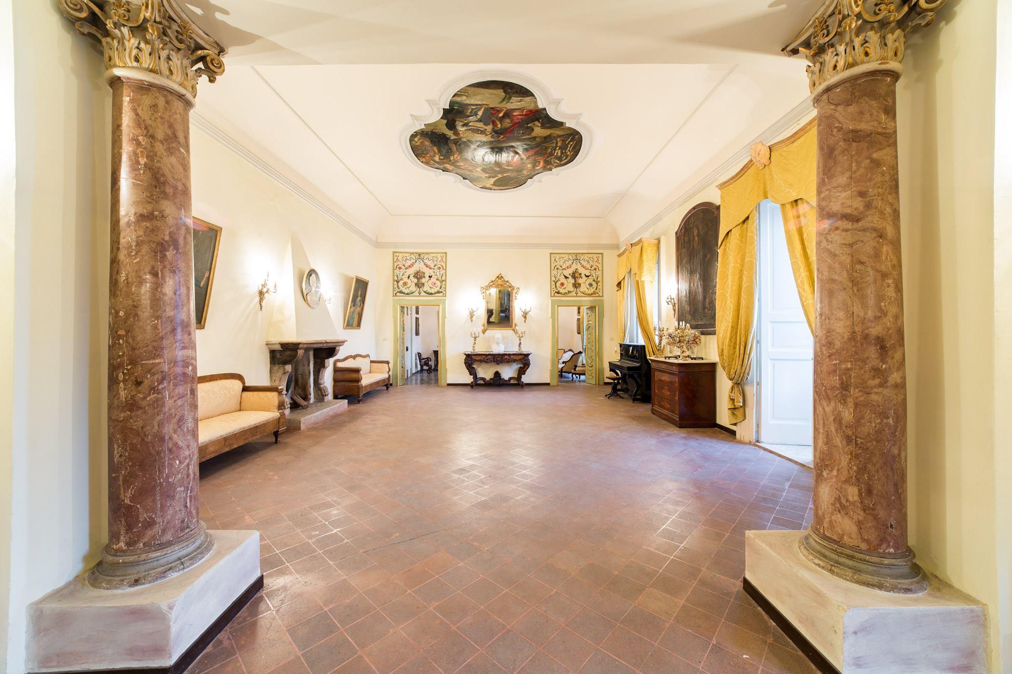 Il salone della Residenza