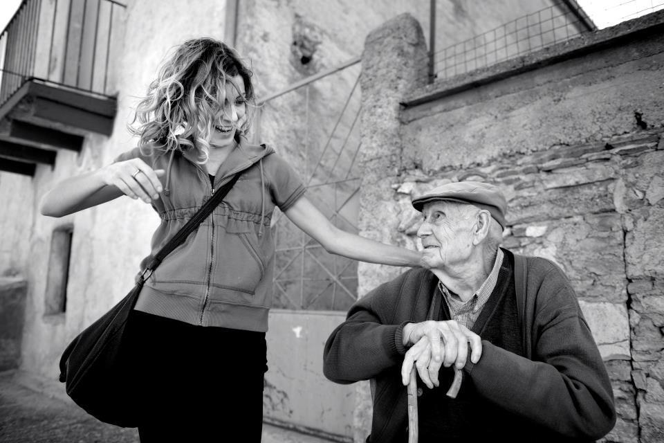 Stefania e Nonno Demetrio