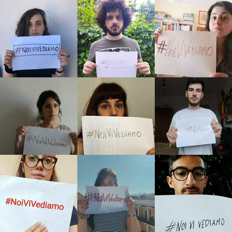 Collettivo Valarioti, #noivivediamocartello